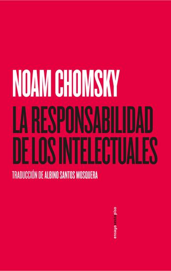 La responsabilidad de los intelectuales - cover
