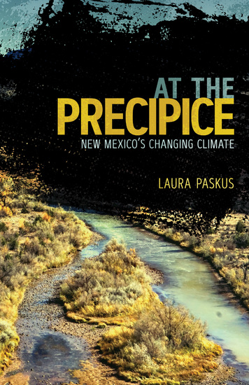 At the Precipice - New Mexico's Changing Climate - cover