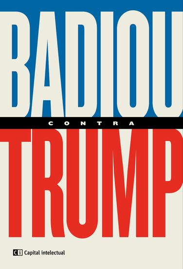 Badiou contra Trump - cover