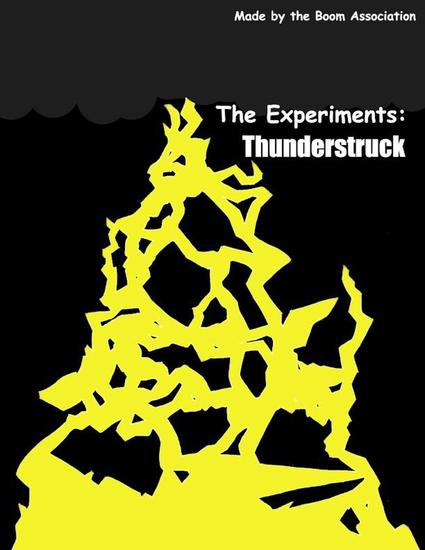 The Experiments: Thunderstruck - The Experiments - cover