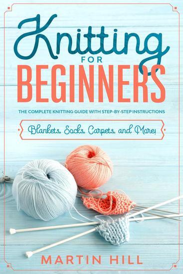Knitting for Beginners - cover