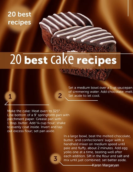 20 Best Cake Recipes - cover