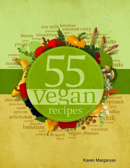 55 Vegan Recipes - cover