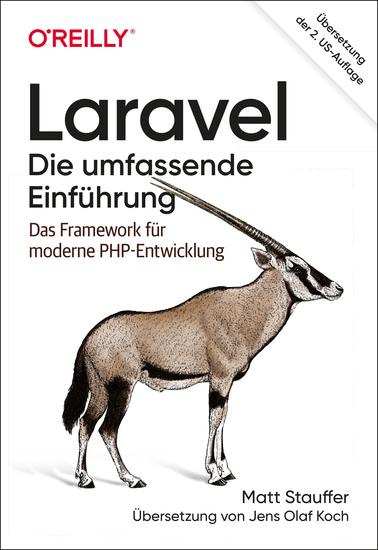 Laravel – Die umfassende Einführung - Das Framework für moderne PHP-Entwicklung - cover