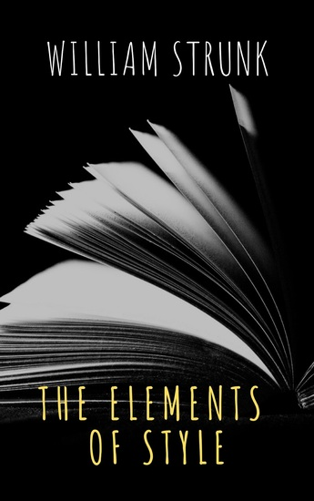 The Elements of Style ( Fourth Edition ) - cover