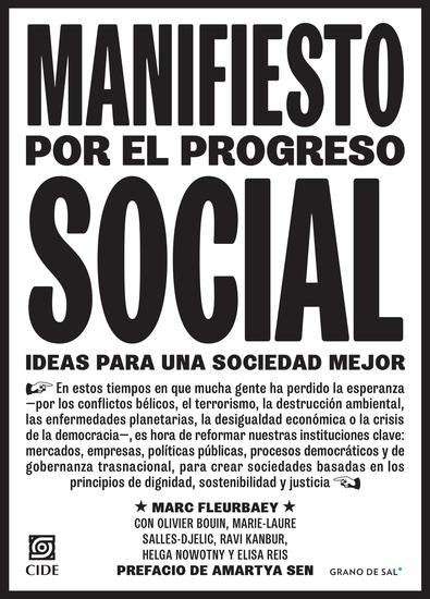Manifiesto por el progreso social - Ideas para una sociedad mejor - cover