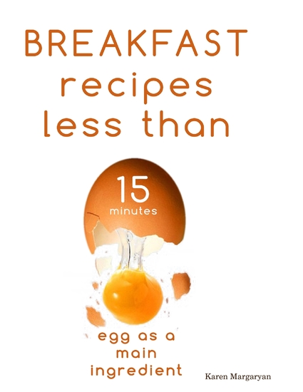 Breakfast Recipes Less Than 15 Minutes - cover