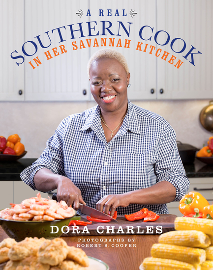 A Real Southern Cook - In Her Savannah Kitchen - cover