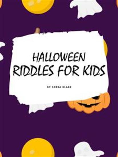 Halloween Riddles for Kids Ages 4+ - cover