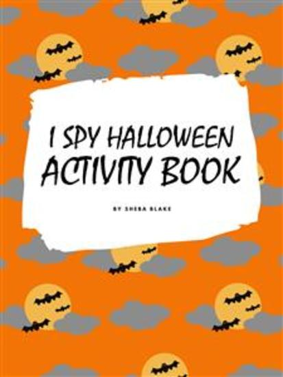 I Spy Halloween Activity Book for Kids - cover