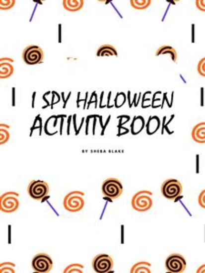 I Spy Halloween Activity Book for Toddlers - cover