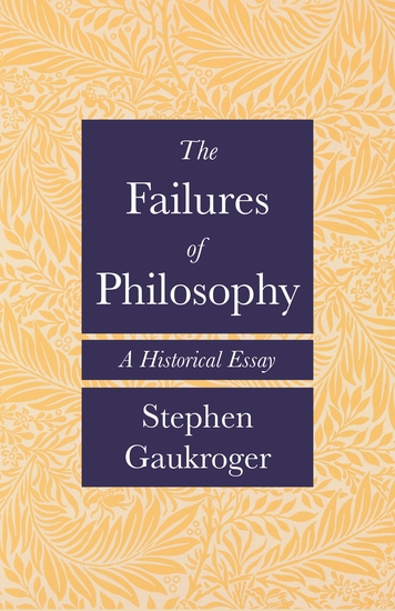 The Failures of Philosophy - A Historical Essay - cover