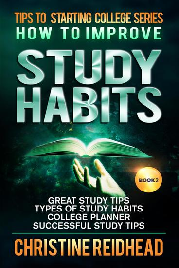 How to Improve Study Habits - cover