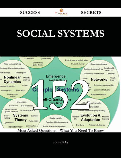 social systems 152 Success Secrets - 152 Most Asked Questions On social systems - What You Need To Know - cover