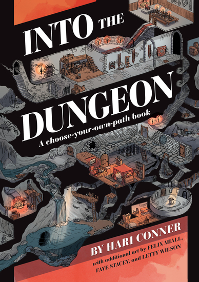 Into the Dungeon - A Choose-Your-Own-Path Book - cover