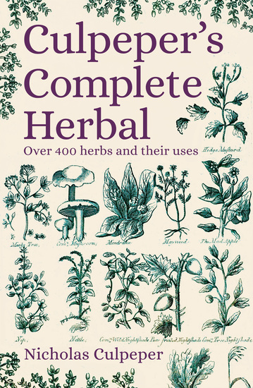 Culpeper's Complete Herbal - Over 400 Herbs and Their Uses - cover
