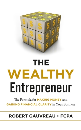 The Wealthy Entrepreneur - The Formula for Making Money and Gaining Financial Clarity in Your Business - cover