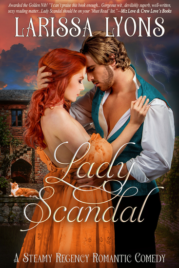 Lady Scandal - A Sexy Historical Regency - cover