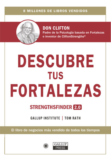 Descubre tus fortalezas - Strengthsfinder 20 - cover