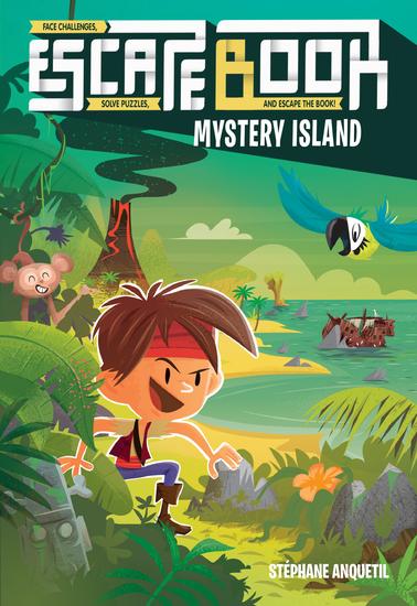 Escape Book - Mystery Island - cover