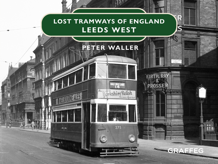 Lost Tramways: Leeds West - cover