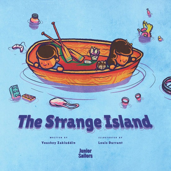 The Strange Island - What's floating in the middle of the ocean? - cover