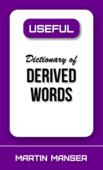Useful Dictionary of Derived Words - cover