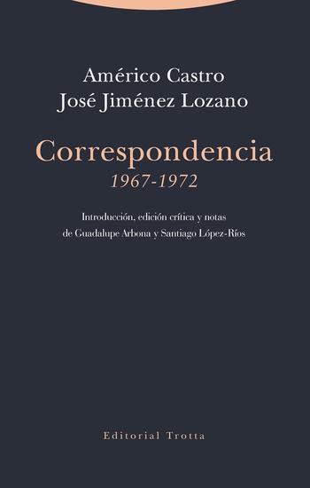 Correspondencia (1967-1972) - cover