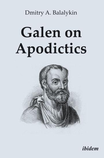 Galen on Apodictics - cover
