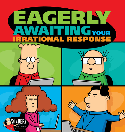Eagerly Awaiting Your Irrational Response - cover