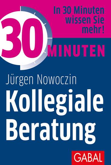30 Minuten Kollegiale Beratung - cover