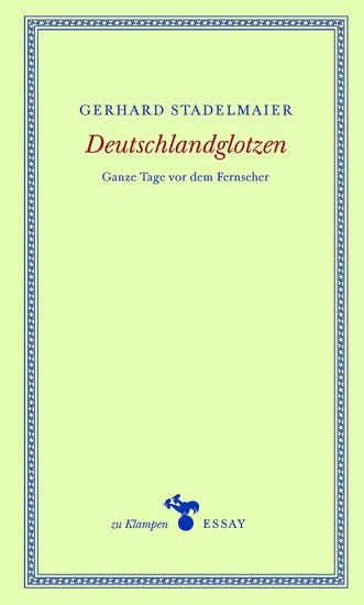 Deutschlandglotzen - Ganze Tage vor dem Fernseher - cover