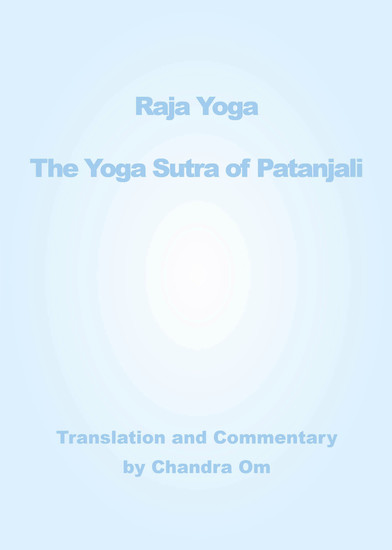 Yoga Sutra of Patanjali - Translation and Commentary - cover