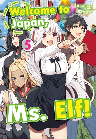 Welcome to Japan Ms Elf! Volume 5 - cover