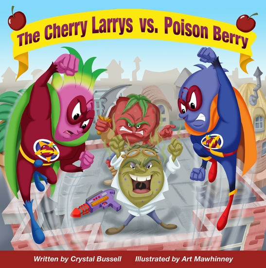 The Cherry Larrys vs Poison Berry - cover