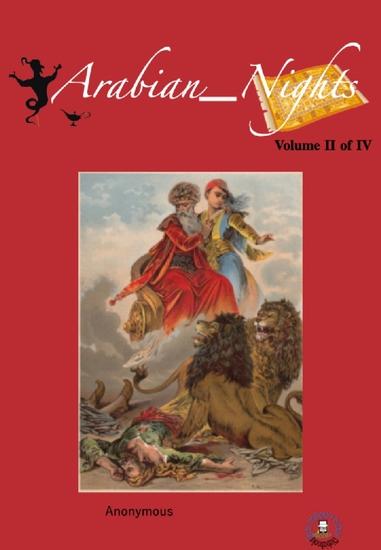 The Arabian Nights Volume II of IV - cover