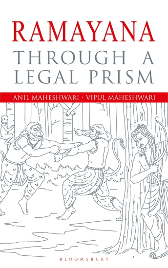 Ramayana Revisited - An Epic through a Legal Prism - cover