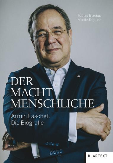 Der Machtmenschliche - Armin Laschet Die Biografie - cover