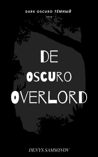 De Oscuro Overlord - cover