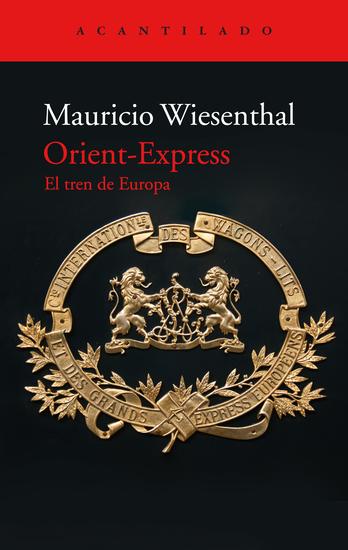 Orient-Express - El tren de Europa - cover
