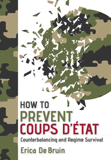 How to Prevent Coups d'État - Counterbalancing and Regime Survival - cover