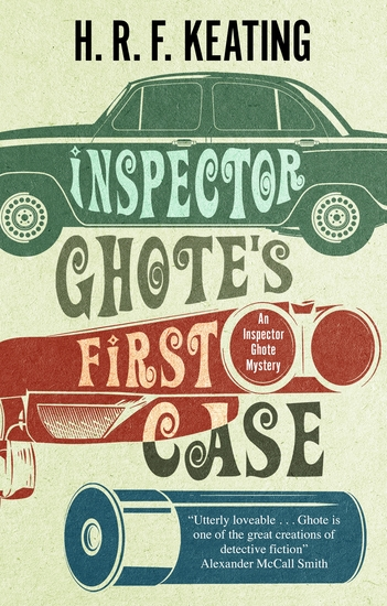 Inspector Ghote's First Case - cover