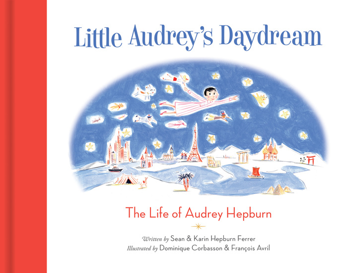 Little Audrey's Daydream - The Life of Audrey Hepburn - cover
