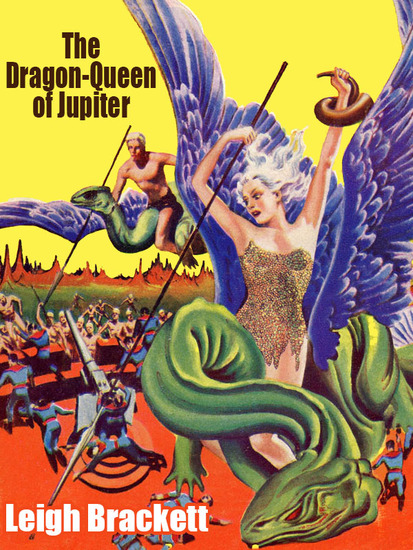 The Dragon Queen of Jupiter - cover