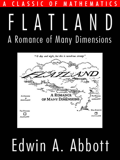 Flatland - A Romance of Many Dimensions - cover
