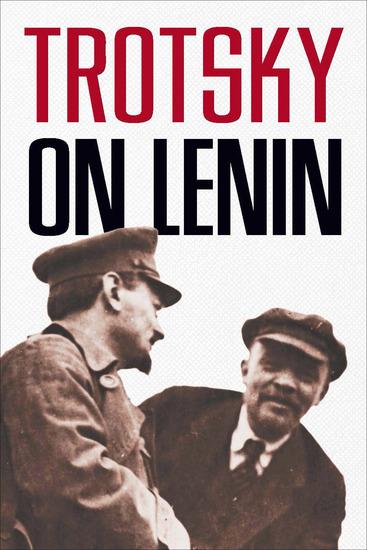 Trotsky on Lenin - cover