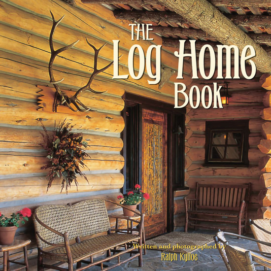 The Log Home Book - cover
