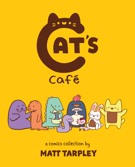 Cat's Cafe - A Comics Collection - cover