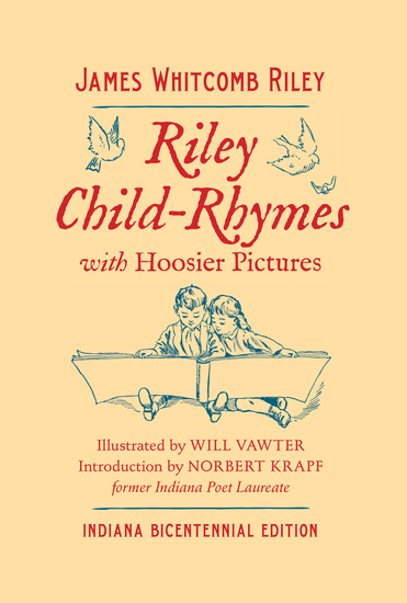 Riley Child-Rhymes with Hoosier Pictures - Indiana Bicentennial Edition - cover