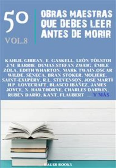 50 Obras Maestras que Debes Leer Antes de Morir - Vol8 - cover